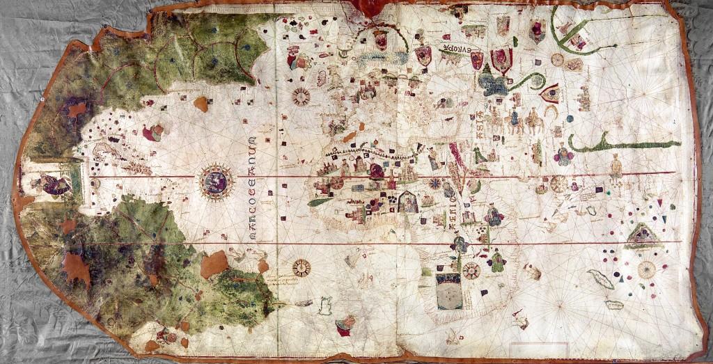 Juan de la Cosa Map