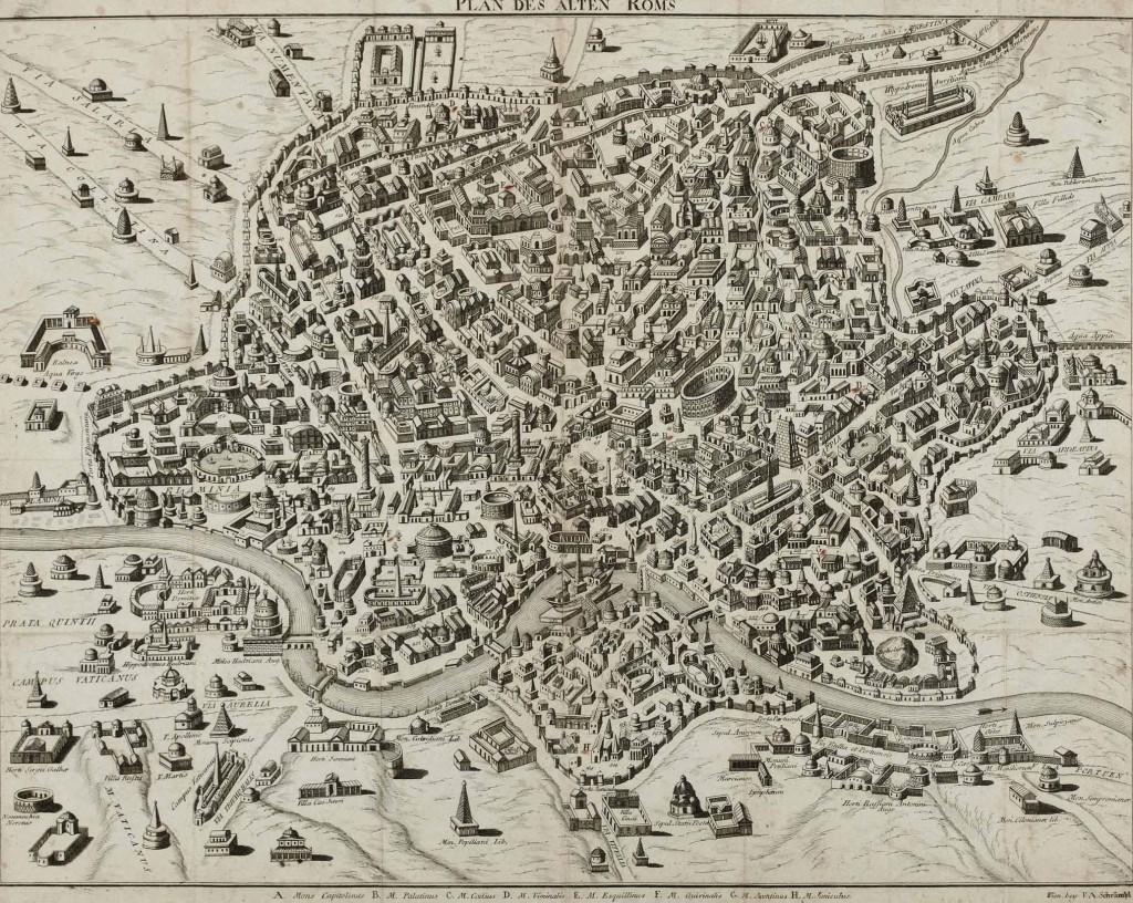 1792 Plan_des_alten_Roms Schrambl