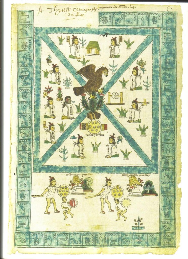 Aztec Map of Tenochtitlan