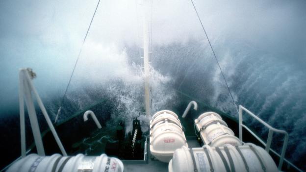 Типичный день где-то в Южном океане (Фото: Gavin Newman/Alamy Stock Photo)