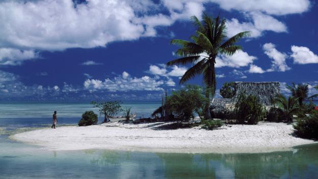 Повышения уровня моря грозит затоплением Кирибатеи (Фото: Stephen Bond/Alamy Stock Photo)