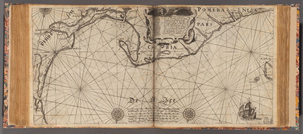 Виллем Янсзоон Блау, 1623 год. The Light of Navigation.