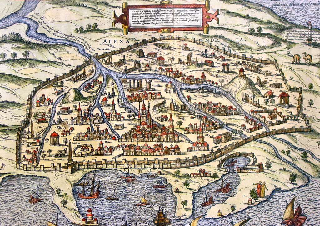 Через Александрию шла большая часть торговли между Европой и странами Индийского океана