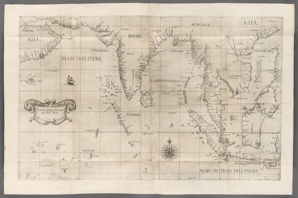 Атлас Dell' Arcano Del Mar, сэр Роберт Дадли, 1646 год.