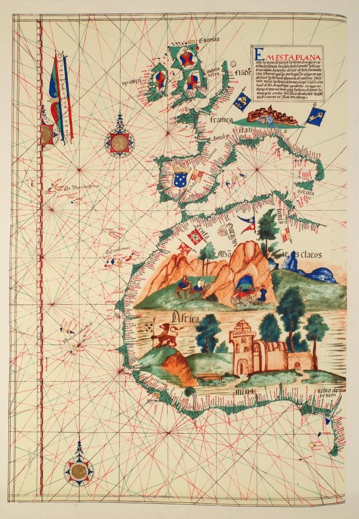 Португальские владения в Африке, 1563 год