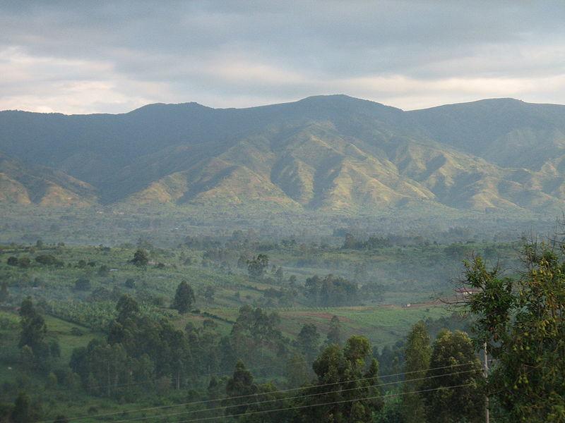 Горы Рувензори