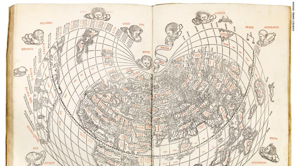 """""""География"""" Птолемея, 1511 год."""