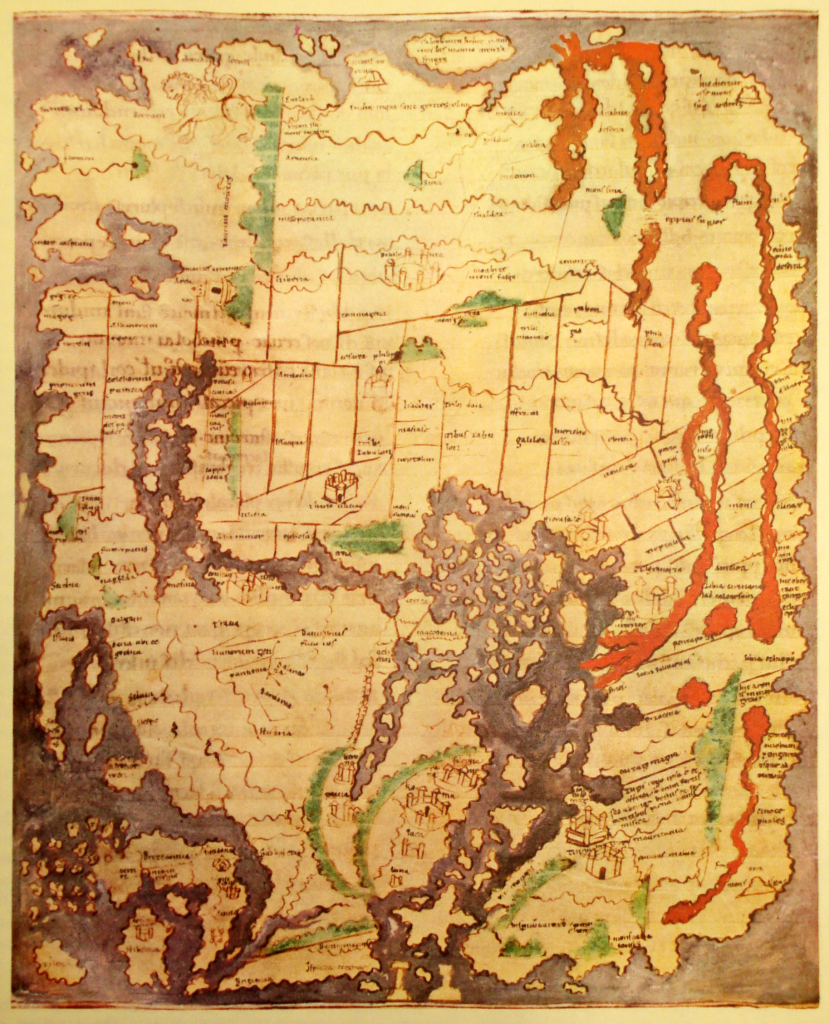 Англо-Саксонская карта