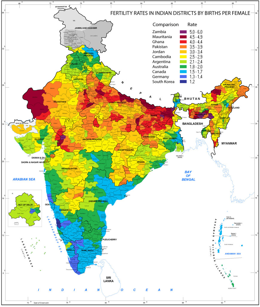 Fertility-rate-in-India