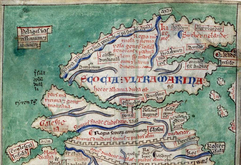 mathew-Paris-map-of-Scotland