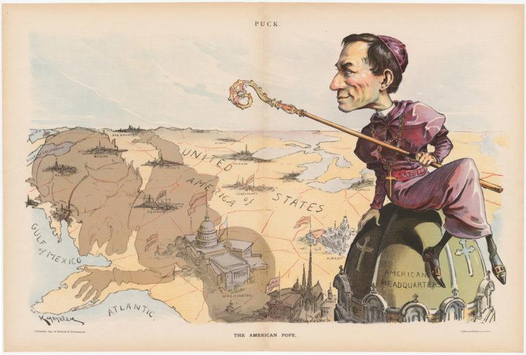 """Удо Кепплер, """"Американский Папа"""", 1894 г."""