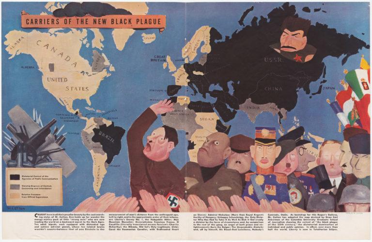 """Уильям Коттон """"Рассадники новой Черной Чумы"""" (1938)"""