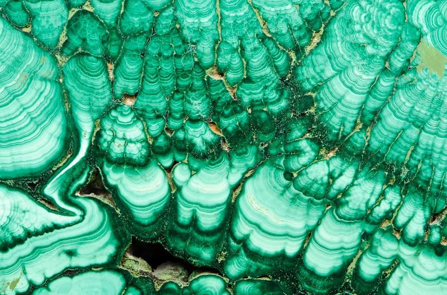 Semiprecious-Ural-stone-malachite