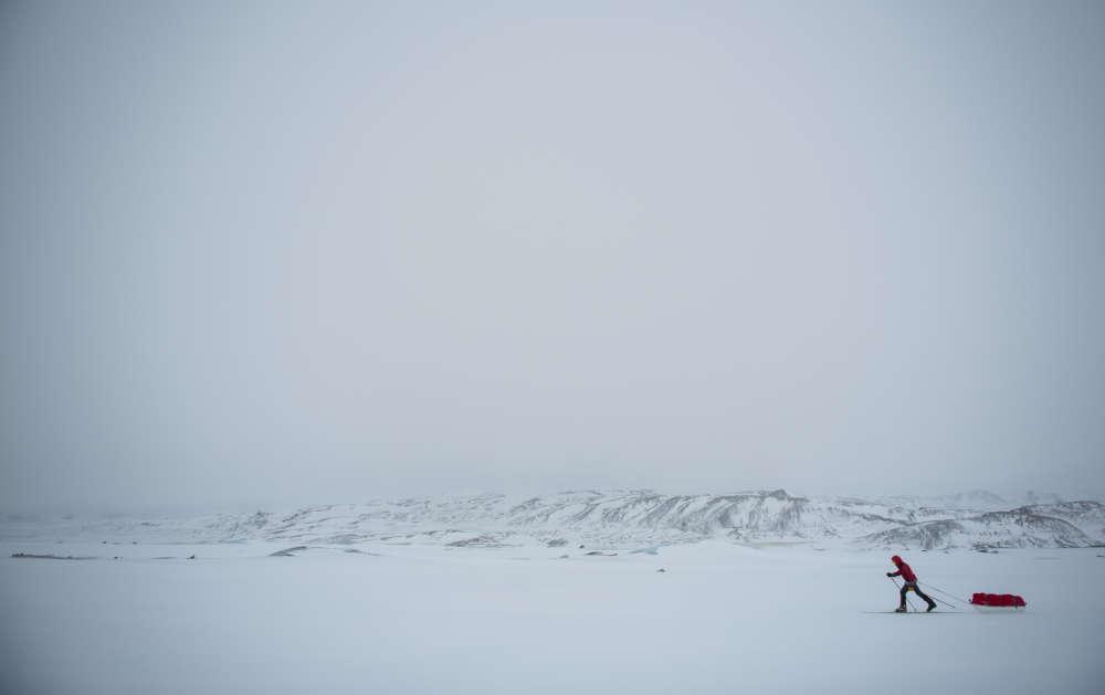 В 2017 году Беллини пересек на лыжах самый крупный ледник Исландии