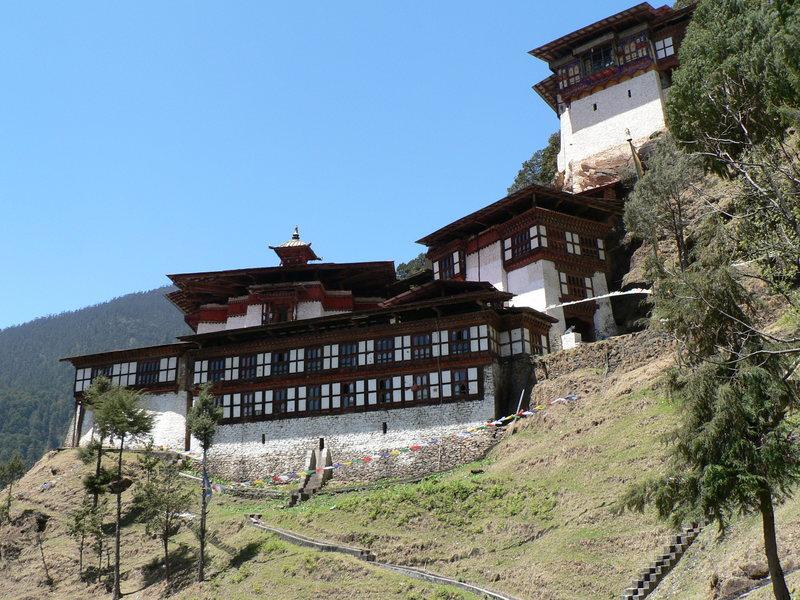 Монастырь Чагри в Бутане, где останавливался Эстебан Каселла, первый человек, рассказавший западному миру о Шамбале