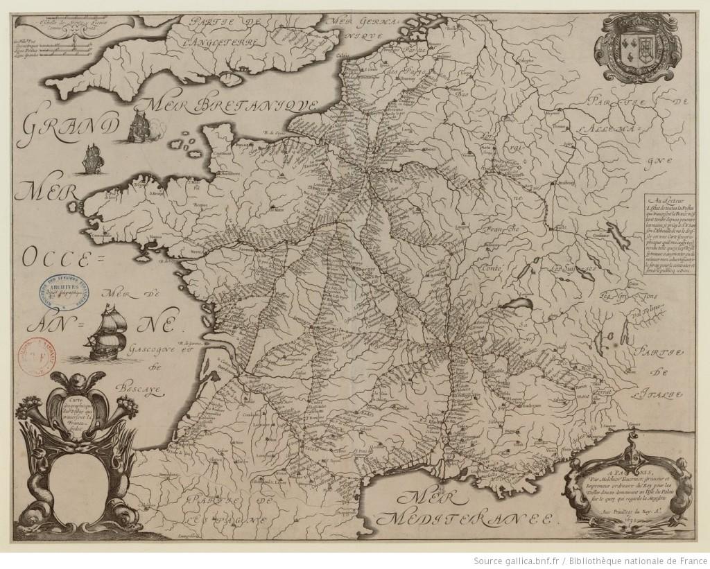 Carte_geographicque_des_postes_qui_[...]Tavernier_Melchior_btv1b8593231z